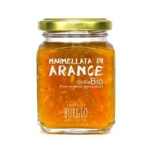 Marmellata di Arance Bio fratelli Burgio Siracusa