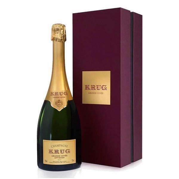 Champagne Krug Astuccio