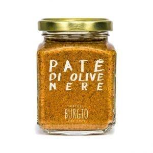 Patè di Olive Nere fratelli Burgio Siracusa