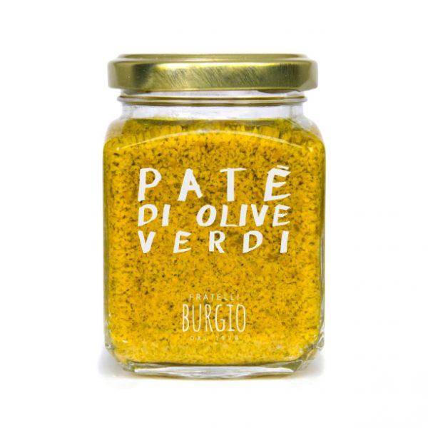 Paté di Olive Verdi fratelli Burgio Siracusa