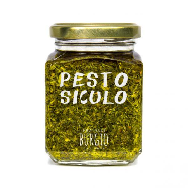 Pesto Siculo fratelli Burgio Siracusa