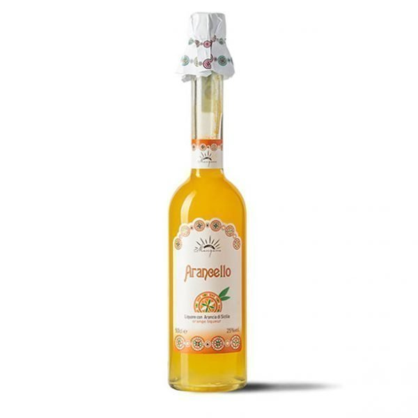 Arancello Mangano: L'infusione in alcool