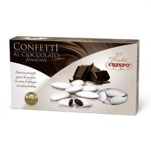 Confetti al Cioccolato Fondente Bianchi