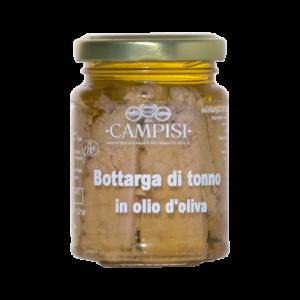Bottarga di Tonno in Olio d'oliva Campisi Vaso 90g
