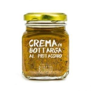 Crema di Bottarga al Pistacchio