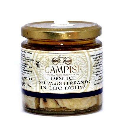 Dentice del mediterraneo in Olio d'oliva Campisi 220g