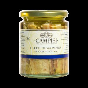 Filetti di Sgrombro in Olio d'oliva Campisi