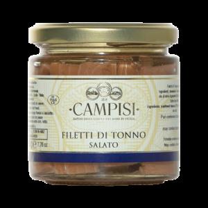 Filetti di Tonno salato Campisi 220g