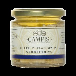Filetti di Pesce Spada in Olio d'oliva Campisi 220g