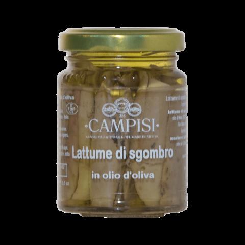 Lattume di Sgombro in Olio d'oliva Campisi 90g