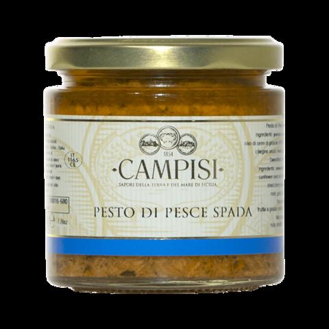 Pesto di Pesce Spada Campisi Vaso 210g