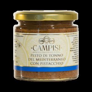 Pesto di Tonno del Mediterraneo con Pistacchio Campisi 210g