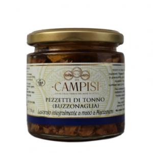 Pezzetti di Tonno (Buzzonaglia) Campisi 220g