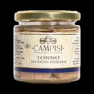 Tonno in Olio d'oliva Campisi Vaso 300g