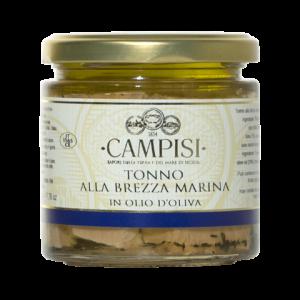 Tonno alla brezza marina in Olio d'oliva Campisi 220g