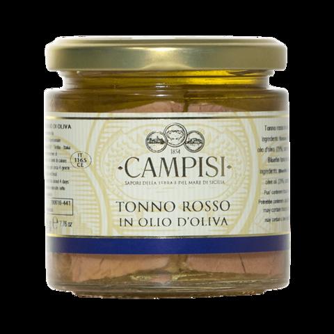 Tonno Rosso in Olio d'oliva Campisi