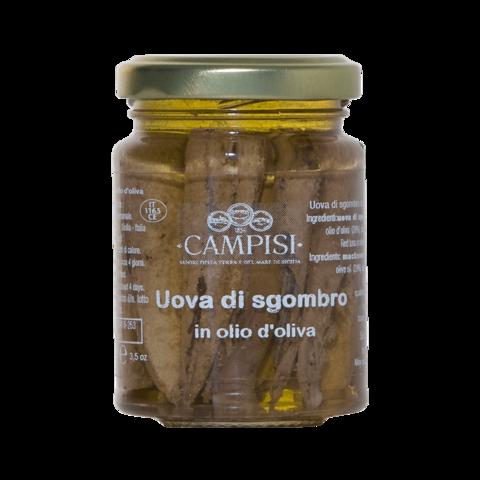 Uova di Sgombro in Olio di oliva Campisi 90g