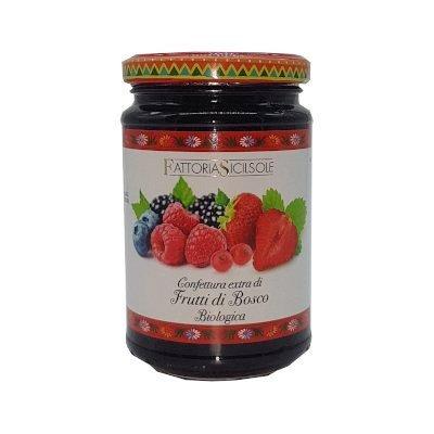 Confettura extra di Frutti di Bosco Bio