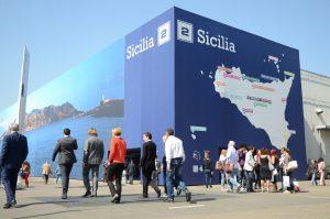 Il mitico Padiglione 2 dedicato alla Sicilia