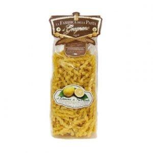 Riccioli al Limone Pasta di Gragnano IGP