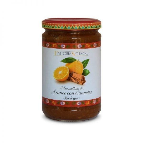 Marmellata di Arance con Cannella Bio