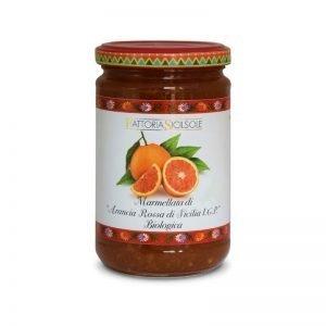 Marmellata di Arancia Rossa di Sicilia IGP Bio