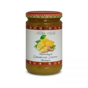 Marmellata di Limoni con Zenzero Bio