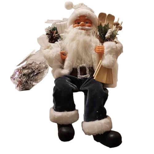 Babbo Natale seduto e Nugatelli Flamigni