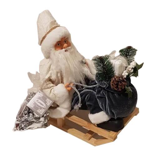Babbo Natale sulla slitta e Nugatelli Flamigni