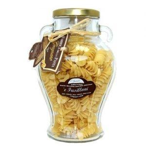 Vaso anfora con Fusilloni Pasta di Gragnano IGP