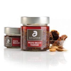 Pesto Ricco con Mandorle e Pomodorino 'A Ricchigia 190g