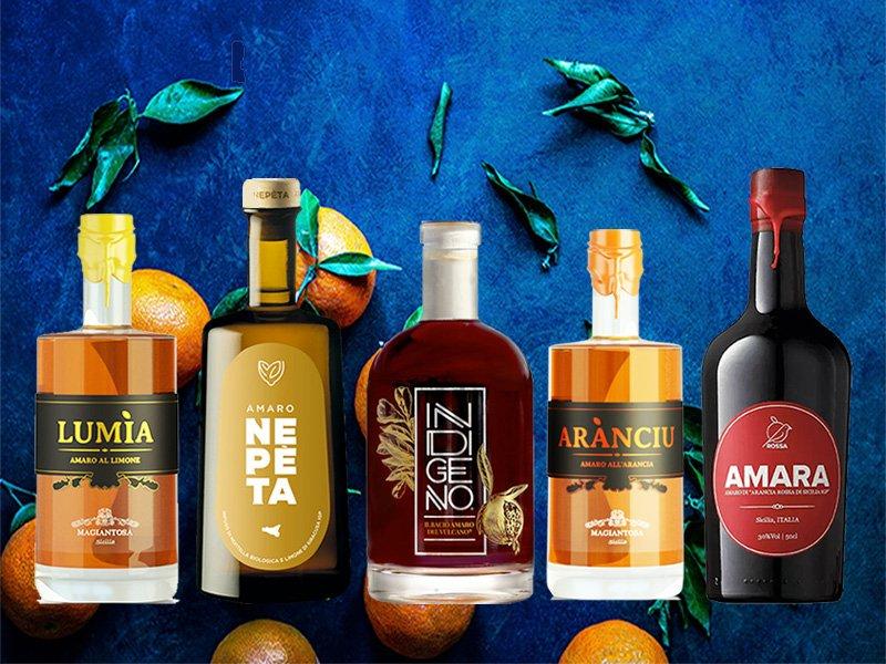 Amari siciliani: liquori sopraffini