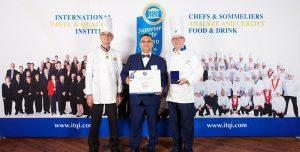 Il pasticciere Giulio Bonfissuto premiato al Superior Taste Award 2018