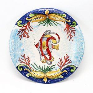 Piatto in Terracotta di Caltagirone