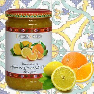 Marmellata Sicilsole di Arance e Limoni Bio di Sicilia
