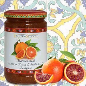 Marmellata Sicilsole di Arance Rosse di Sicilia I.G.P. Biologica