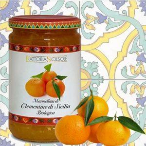 Marmellata Biologica Sicilsole di Clementine di Sicilia
