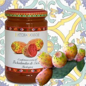 Confettura Extra di Fichi d'India di Sicilia Biologica Sicilsole