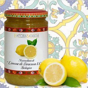 Marmellata di Limone di Siracusa I.G.P. Biologica Sicilsole