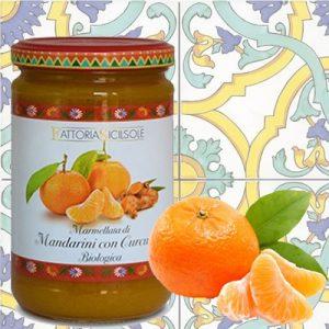 Marmellata di Mandarini e Curcuma Biologica Sicilsole