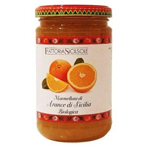 Marmellata di Arance di Sicilia Bio Fattoria Sicilsole