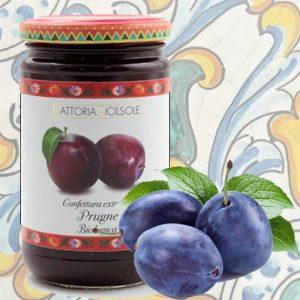 Confettura Extra di Prugne Bio Fattoria Sicilsole