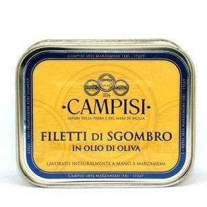 Filetti di Sgombro Campisi Latta 340g