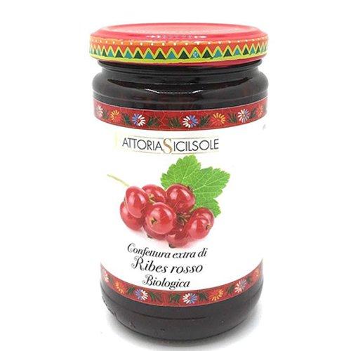 Confettura Extra di Ribes Rosso Bio Fattoria Sicilsole