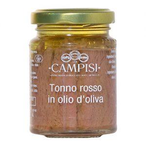 Tonno Rosso in olio d'oliva Campisi 90g