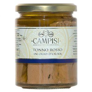 Tonno Rosso in olio d'oliva Campisi Vaso 300g