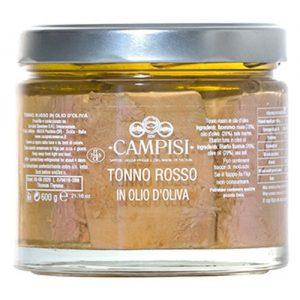 Tonno Rosso in olio d'oliva Campisi Vaso 600g