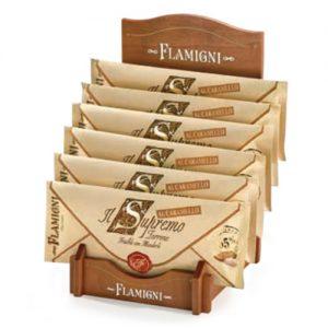 """Torrone Il """"Supremo"""" Friabile alle mandorle(65%) in busta Pergamena Flamigni"""