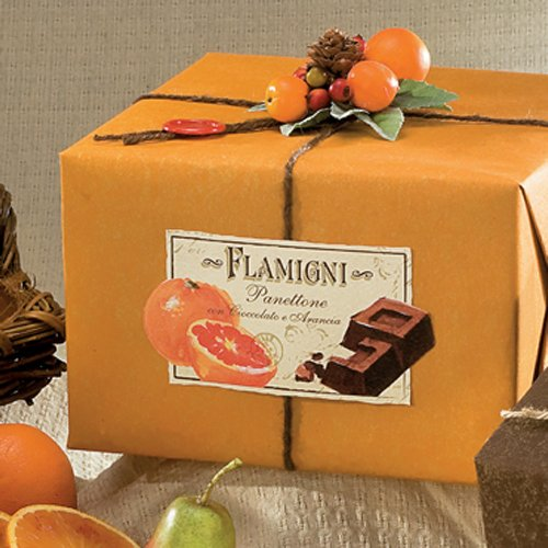 Panettone cioccolato e arancia Flamigni