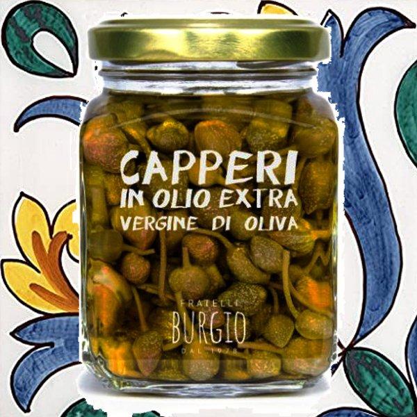 Capperi in Olio Extra Vergine d'Oliva